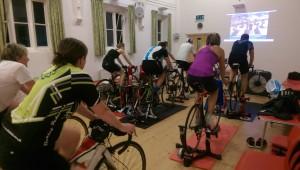 Turbo training at St. Leonards
