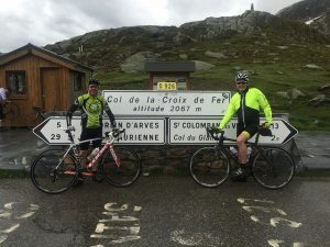 Gaz and Mulley arrive on the Croix de Fer