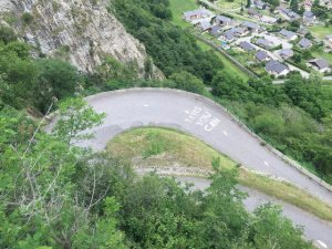 The tight turns of Lacets de Montvernier